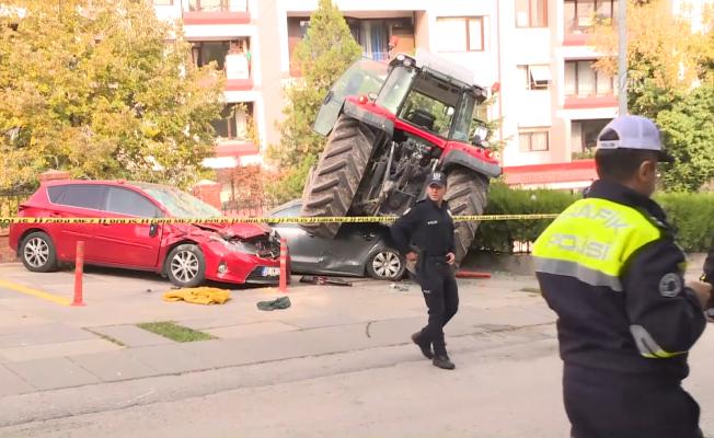 Başkentte Şüpheli Traktör