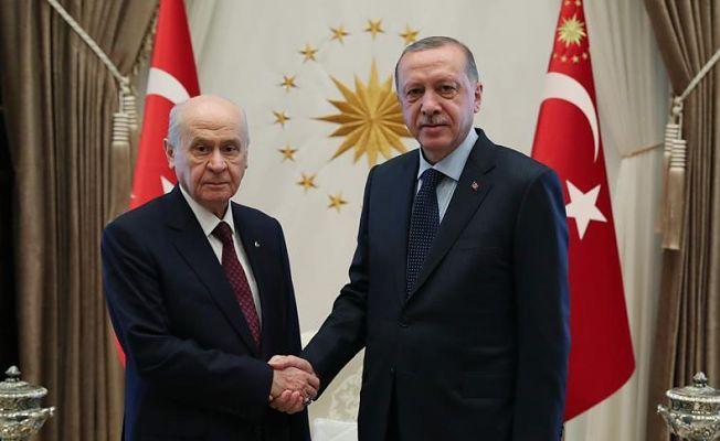 Cumhurbaşkanı Erdoğan, Bugün MHP Lideri Bahçeli ile Görüşecek