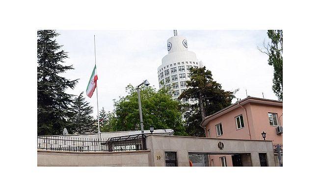 İran'ın Ankara Büyükelçiliğine Canlı Bomba İhbarı Yapıldı