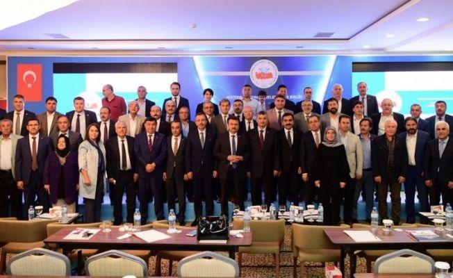 Jeotermal Kaynaklı Belediyeler Birliği Toplantısı Kahramanmaraş'ta yapıldı