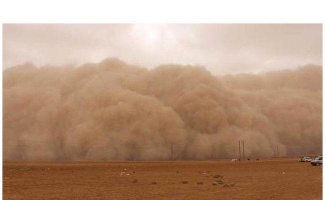 Suriye Üzerinden Gelen Toz Bulutuna Dikkat!
