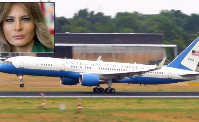 Trump'ın Uçağı Zorunlu İniş Yaptı