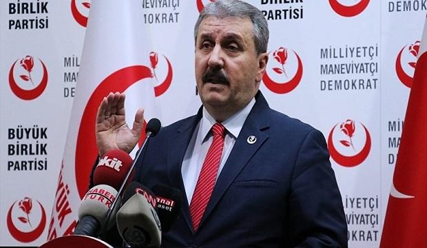 BBP Lideri Destici, 23 Haziran Seçimlerinde kimi destekleyeceğini açıkladı