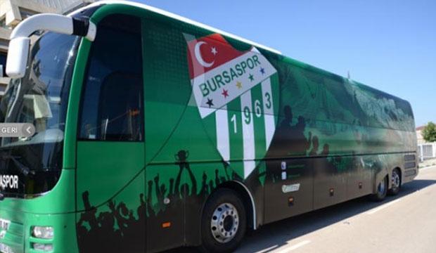 Bursaspor'un Takım Otobüsüne El Koydular!