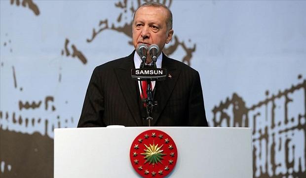 Erdoğan: Bizim Kızıl Elmamız da Büyük ve Güçlü Türkiye'nin İnşasıdır