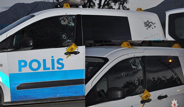 K.Maraş'ta Cinnet Getiren Kişi Polis Aracına Kurşun Yağdırdı!
