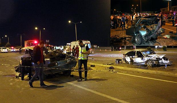 K.Maraş'ta Kaza: Araçlar Kullanılamaz Hale Geldi!