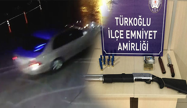 Kahramanmaraş'ta asker uğurlama konvoyunda 'drift' terörü