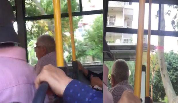 K.Maraş'ta Yaşlı Adam Halk Otobüsünde Cinsel İçerikli İzlerken Yakalandı