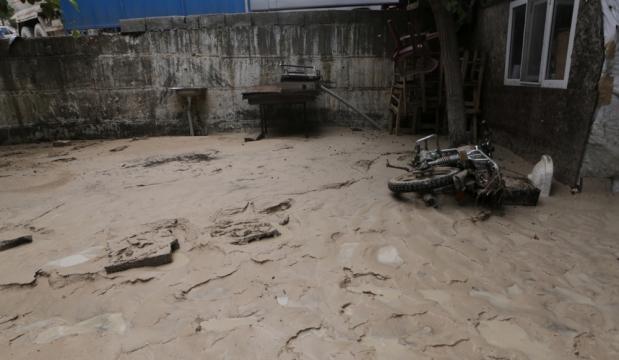 Mersin'in Mut ilçesindeki sel