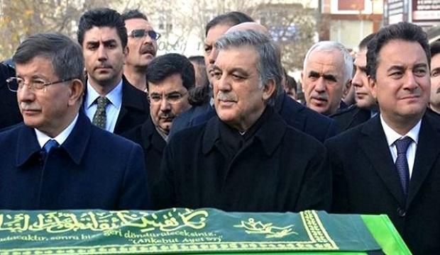 """Dava arkadaşlarım"""" deyip Gül, Davutoğlu ve Babacan'a çağrı yaptı"""