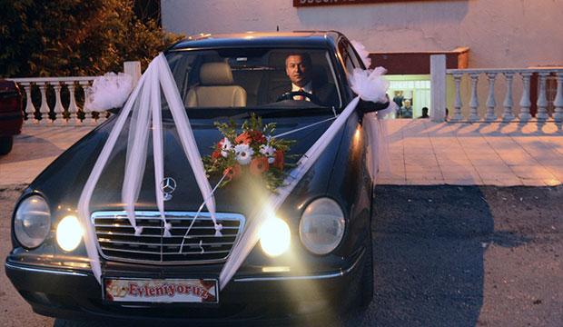 Kahramanmaraş'ta Başkanın Makam Aracı, Gelin Arabası Oldu!