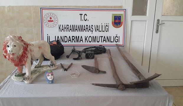Kahramanmaraş'ta Kaçak Kazı Operasyonu: 2 Kişi Yakalandı!
