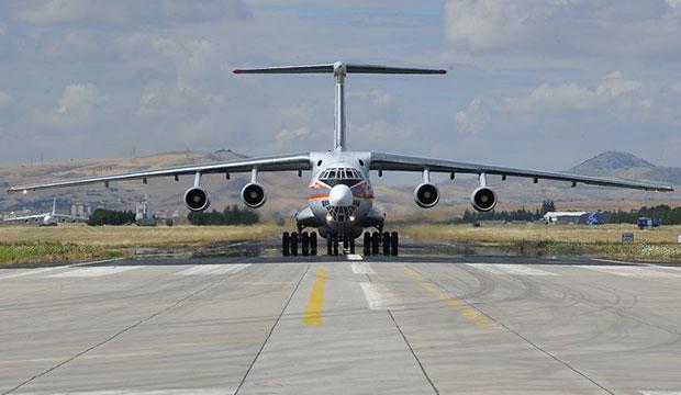 S-400 Teslimatında 2. Gün: Dördüncü Uçak Geldi!