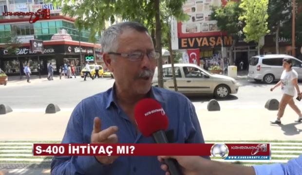 S-400 Türkiye İçin İhtiyaç Mı? Kahramanmaraşlılara Sorduk..