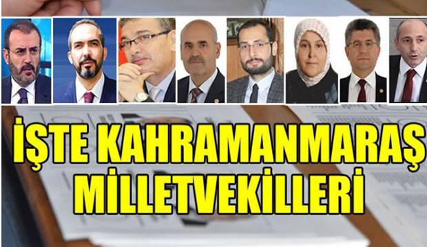 Size göre en başarılı Kahramanmaraş milletvekili kim?