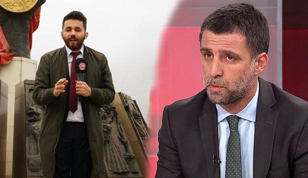 Fetöcü Hakan Şükür, Kahraman TV Muhabiri İlker Apaydın'a Hakaret Etti!