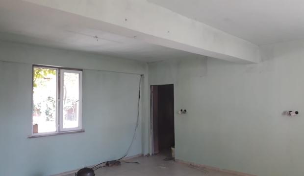 Kahramanmaraş Büyükşehir Yanan Muhtarlık Binasını Onaracak