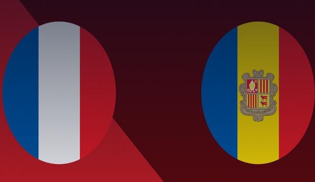 Fransa-Andorra Maçı Canlı İzle