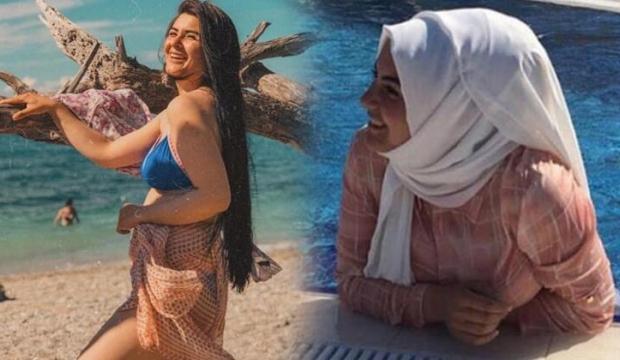 Hanife Bikinili Fotoğrafını Paylaştı