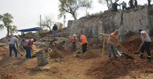 Hatay'ın Altınözü ilçesindeki Roma dönemine ait nekropolde kazı çalışmaları başladı