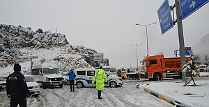20 Aracın Karıştığı Zincirleme Trafik Kazası