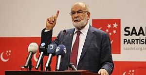 Karamollaoğlu'ndan Erdoğan'a  Destek