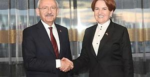 Kılıçdaroğlu ile Akşener Gece Yarısı Bir Araya Geldi