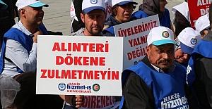 Bolu Belediyesinde İşten Çıkarılan İşçilerin Oturma Eylemi Devam Ediyor