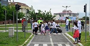 Dulkadiroğlu'ndan Uygulamalı Trafik Eğitimi