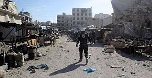 Esed Rejimi Pazara Saldırdı:4 Ölü, 40 Yaralı