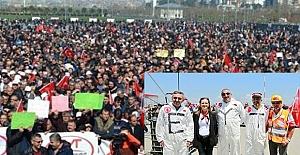 EYT'liler Yenikapı'da miting yaptı:''Sandığa gittiğimizde yaşadıklarımızı düşüneceğiz''