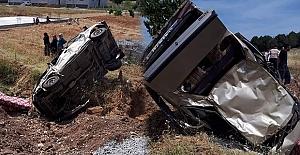 Kahramanmaraş'ta Kaza: 2'si ağır 5 yaralı