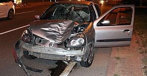 Kahramanmaraş#039;ta Otomobilin Çarptığı...