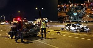 K.Maraş#039;ta Kaza: Araçlar Kullanılamaz...