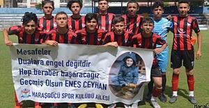 Maraşgücüspor U14 Türkiye şampiyonasına veda etti