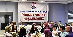 Mersin'dekiKahramanmaraşlılar iftar sofrasında buluştu