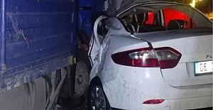 Trafik Kazasında 6 Kişi Yaralandı 50 Koyun Telef Oldu