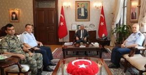 15. Füze Üs Komutanı Tuğgeneral Hasan Basri Meşe Hatay'da