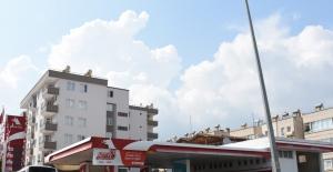 Alanya'da akaryakıt istasyonunda patlama