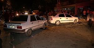 Kahramanmaraş'ta Meydana Gelen Trafik Kazalarında 5 Kişi Yaralandı
