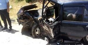 K.Maraş Bertizde Trafik Kazası: 13 Yaralı