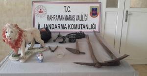 Kahramanmaraş#039;ta Kaçak Kazı...