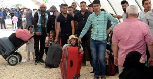 Suriyeliler Ülkelerine Dönüyor,İlk Kafile Yolda!