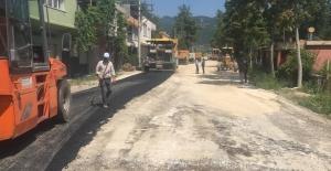 Büyükşehir Belediyesi Asfaltlama Çalışmasına Ağırlık Verdi