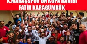 Kahramanmaraşspor'un Kupa'daki Rakibi Belli Oldu