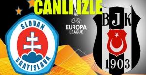 Slovan Bratislava-Beşiktaş UEFA Maçı