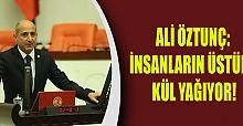 Ali Öztunç: İnsanların Üstüne Kül Yağıyor!